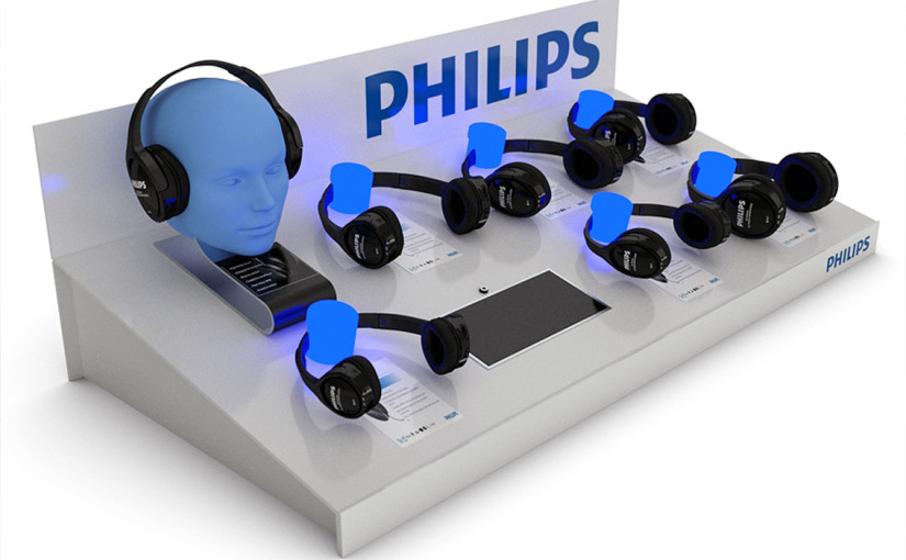 Philips displej vizualizace | Philips Display Visualisation