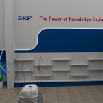 SKF stěna | display wall